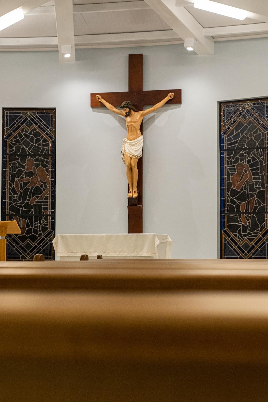 Crucifix of Christ statue