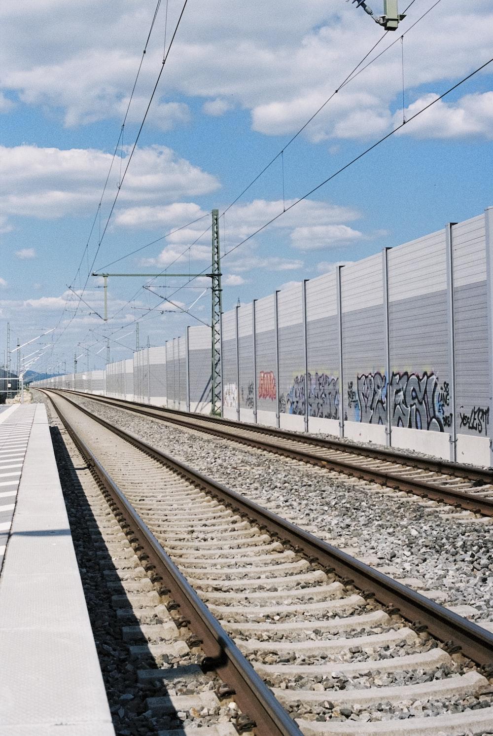 brown railway