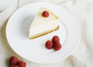 piece of cakes on plate