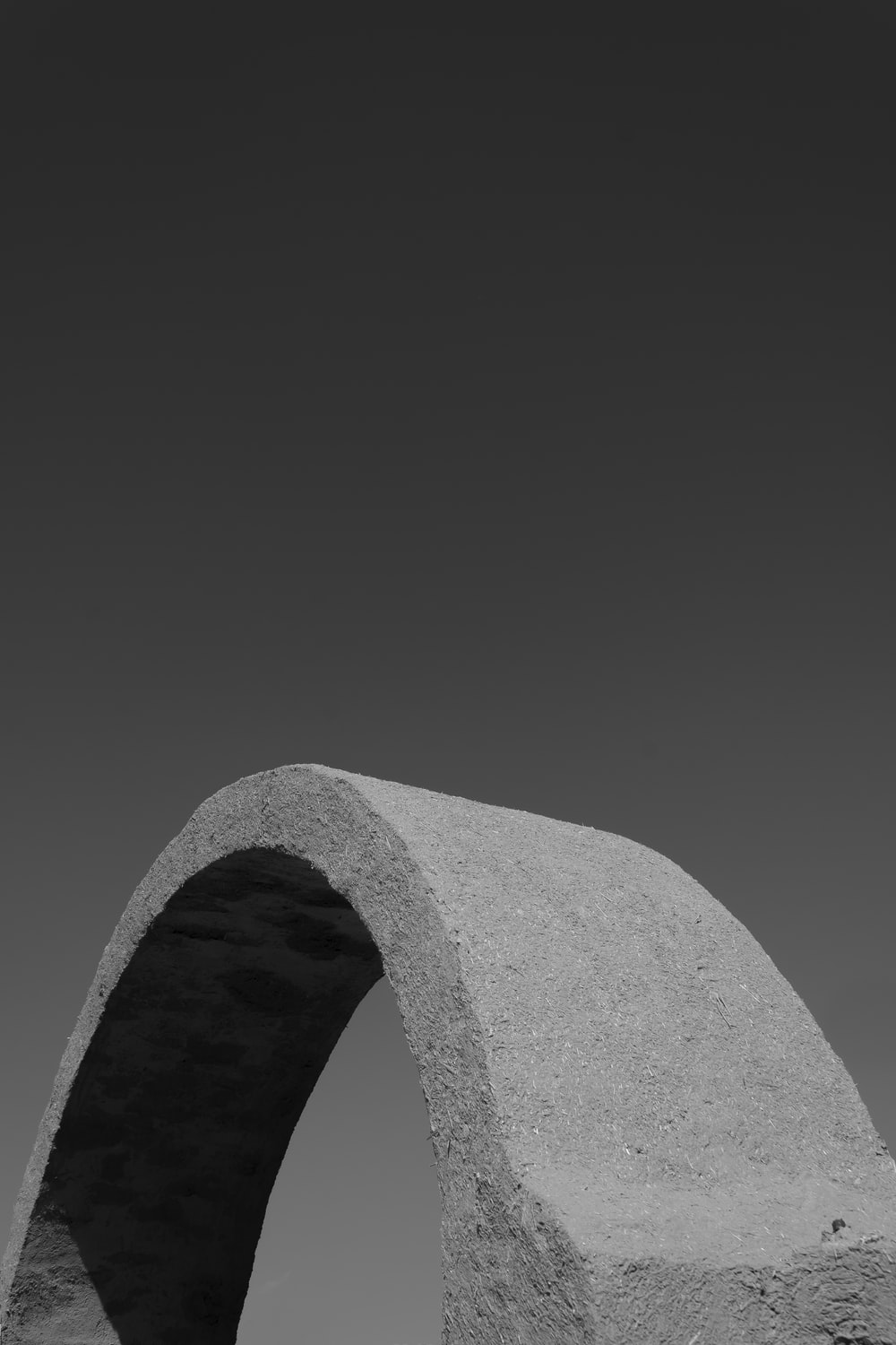 greyscale photography of dome concrete