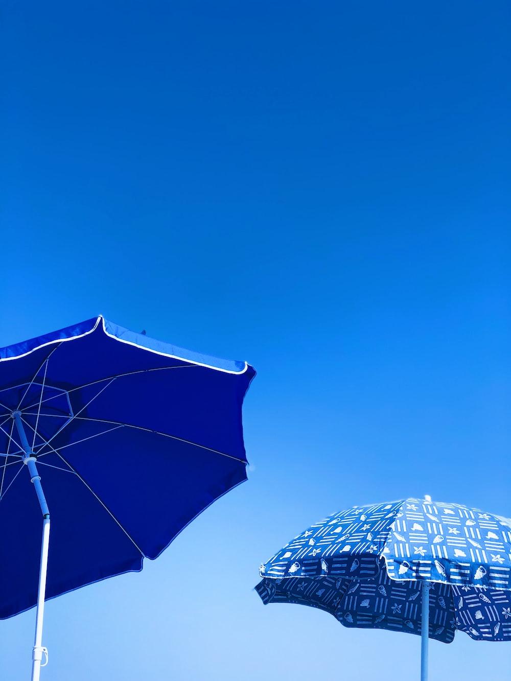 two parasols