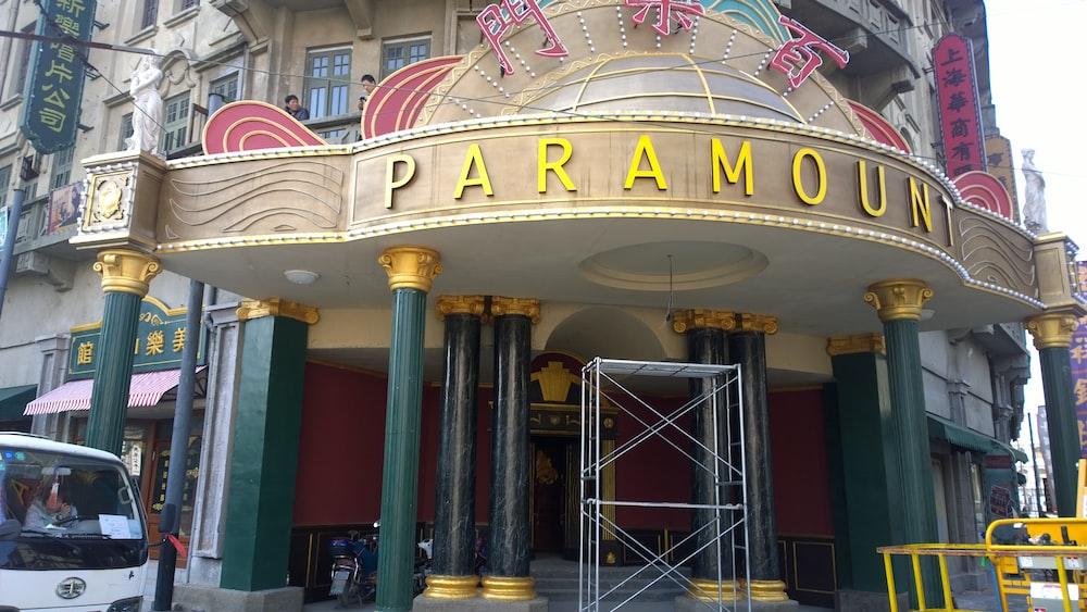Paramount building during daytime