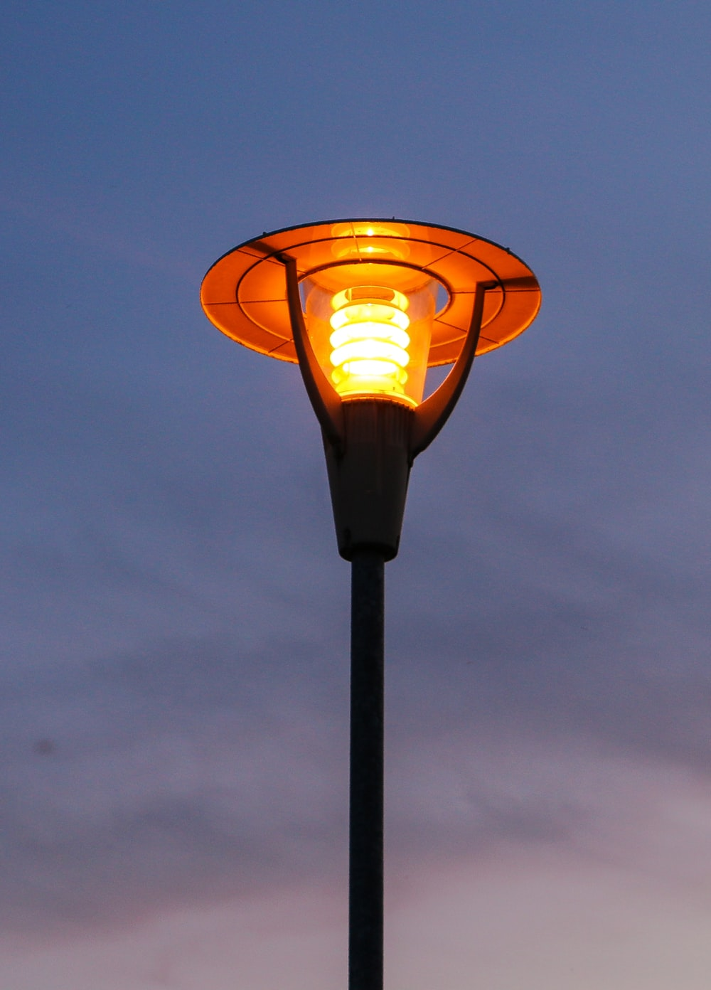 turned-on torch light