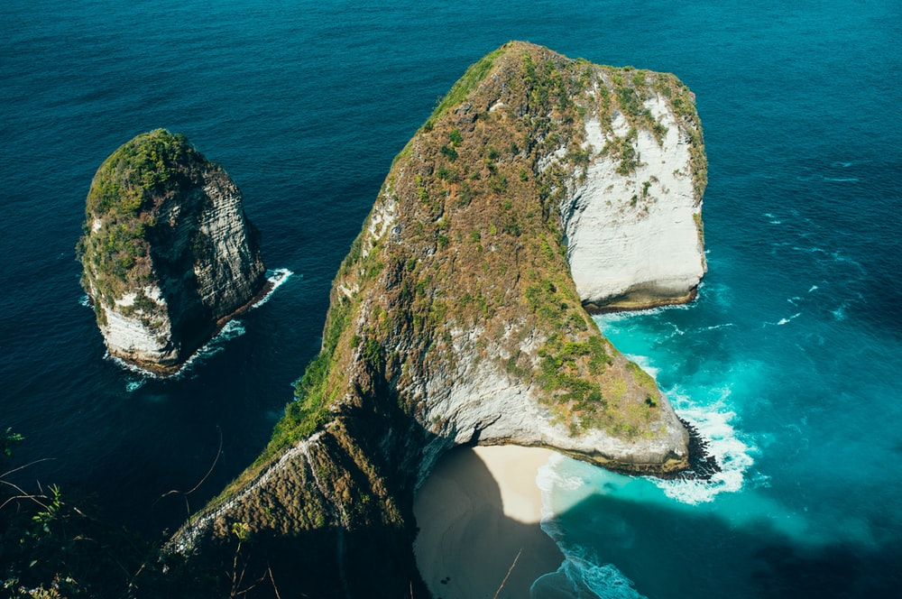 rock formation photography