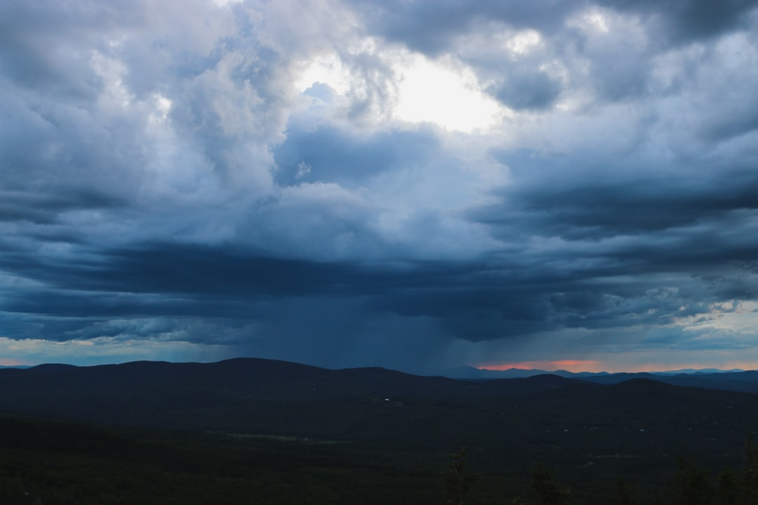 A rain storm approaches in the White Mountains. Follow on Instagram @wildlife_by_yuri