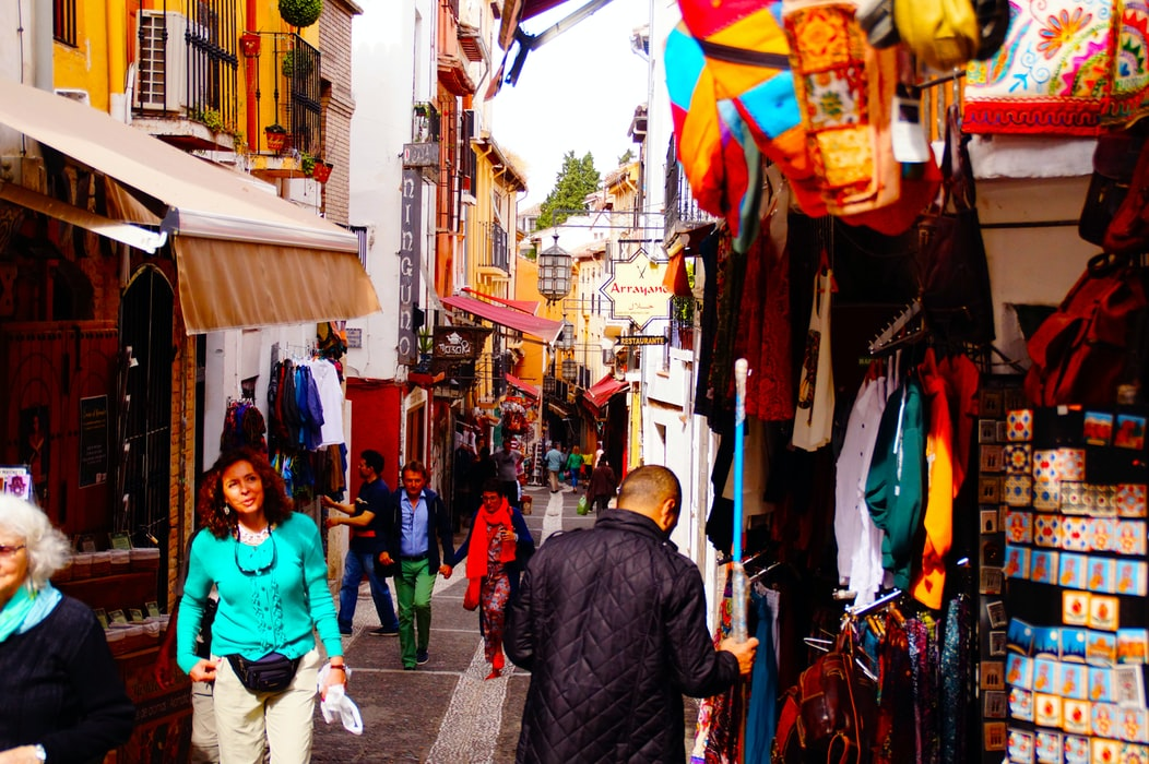 Granada market spain