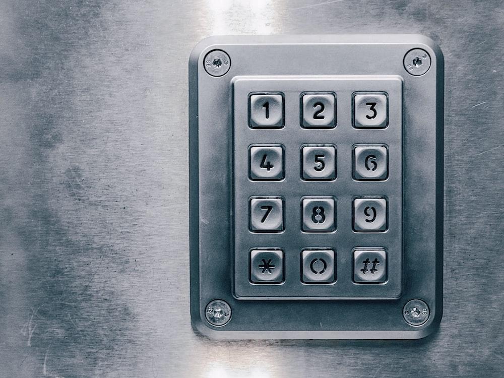 silver lock pad