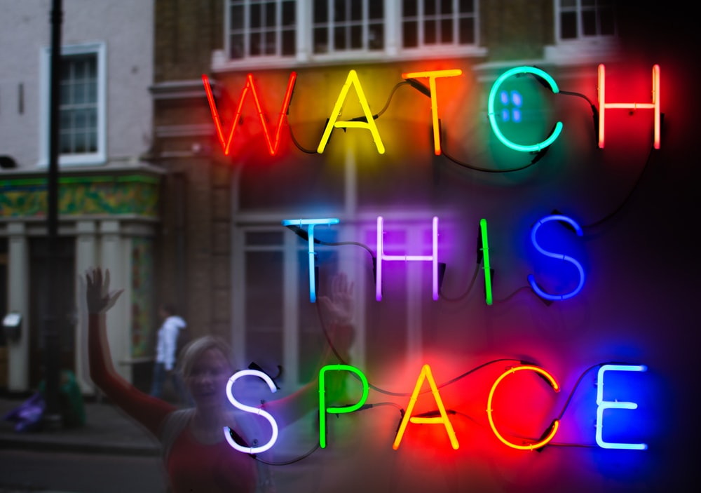 assorted-color neon lighted signage