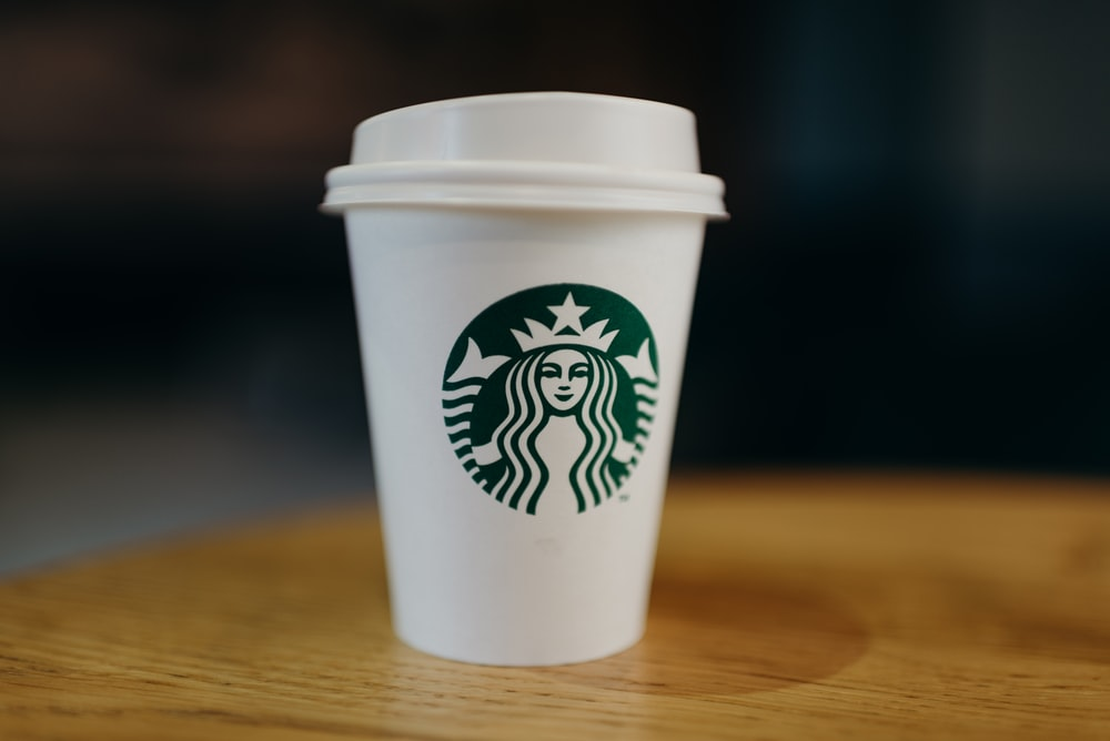 Starbucks disposable cup