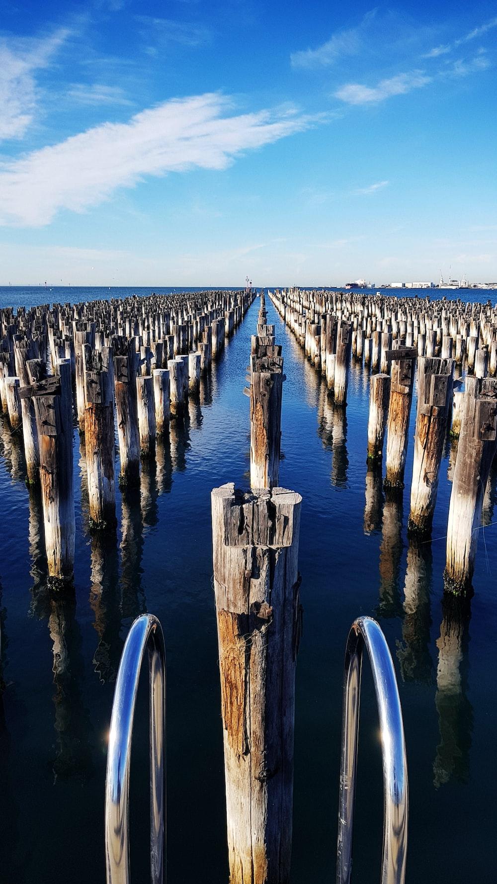 wooden post lot