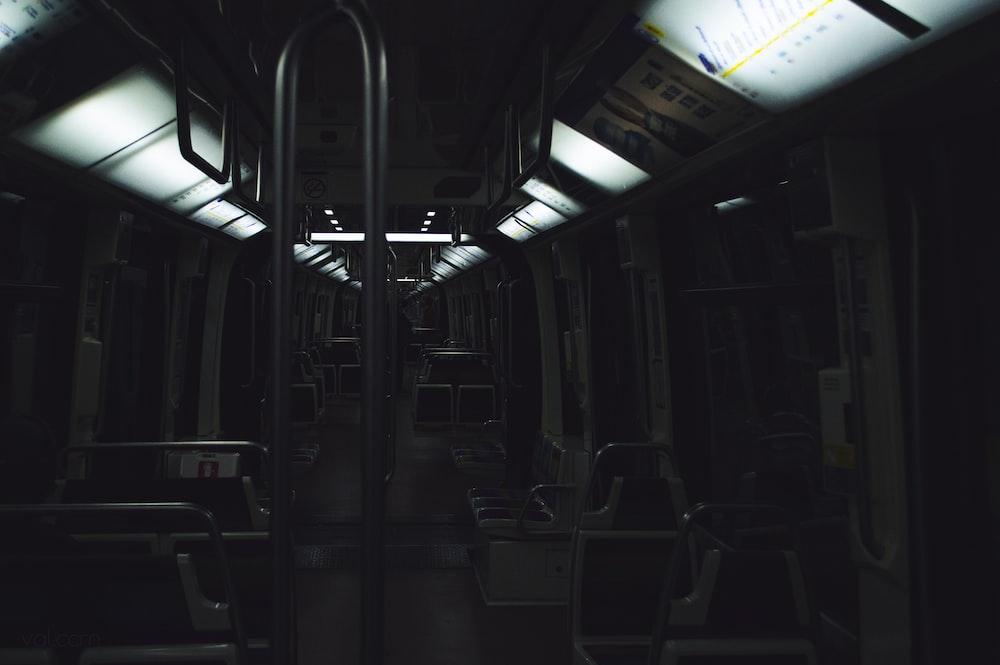 empty train car