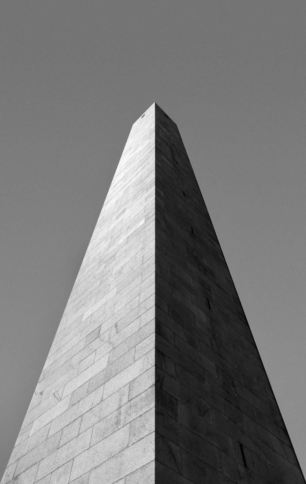 greyscale photo of tower