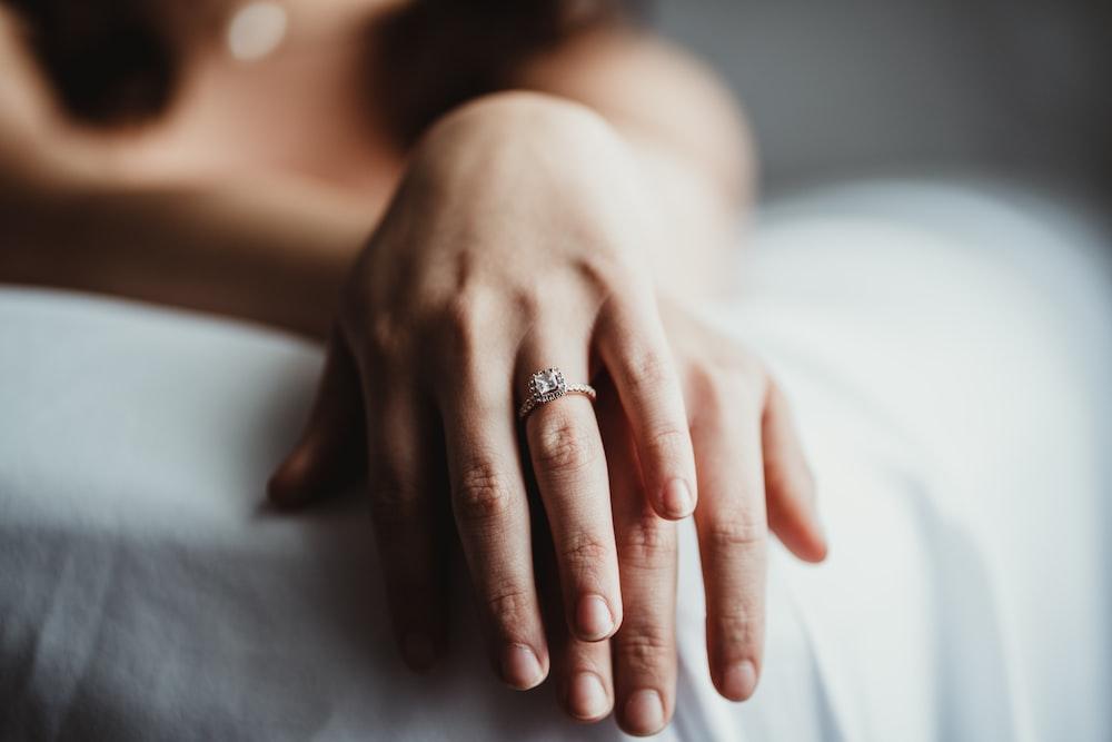 person' hand