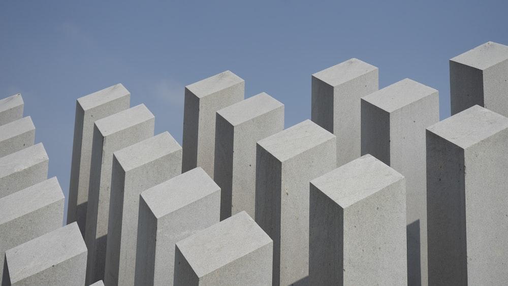 high-rise building artwork
