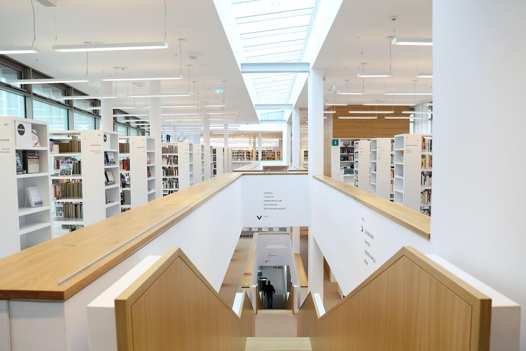 Stadtbibliothek Nordhausen - unsplash
