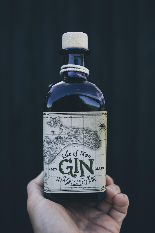 Life of Men gin liquor bottle