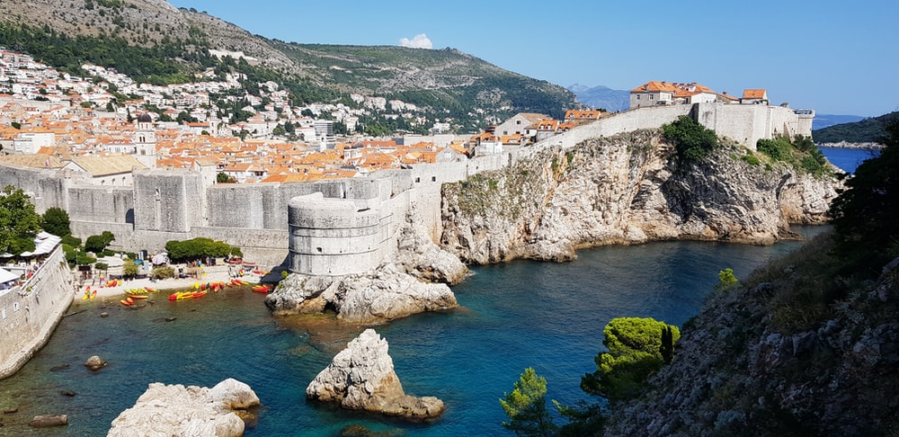 Walls of Dubrovnik, Croatia