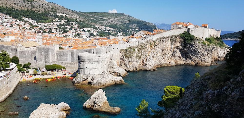 Walls of Dubrovnik, Croatia