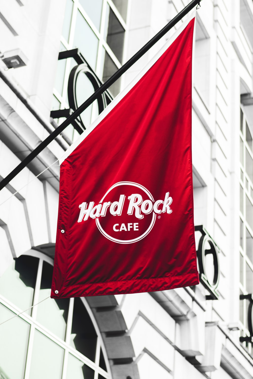 hard rock cafe signboard