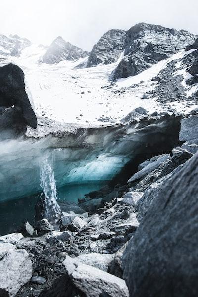 Glacier of Mont Fort, Switzerland