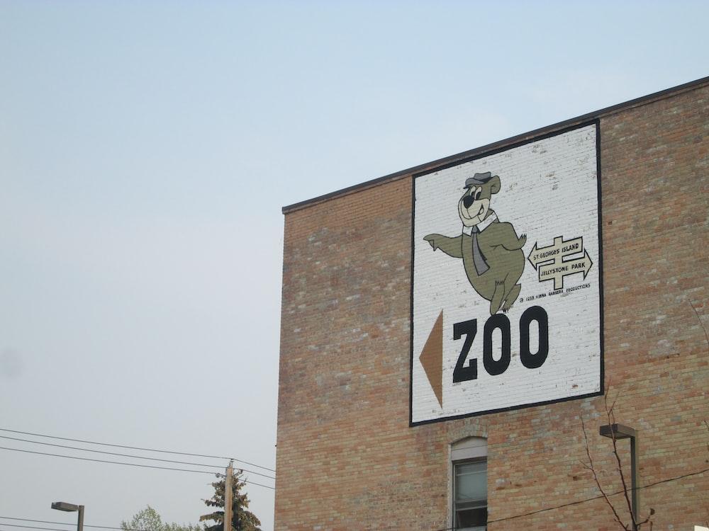 Zoo signage