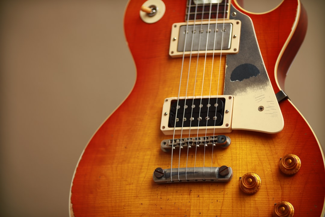 Gibson 1958 Les Paul Standard Sunburst Slash of Guns N Roses