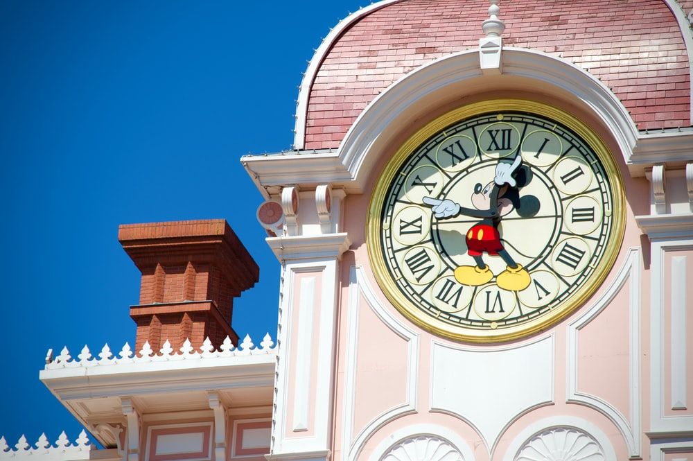 Mickey Mouse clock tower