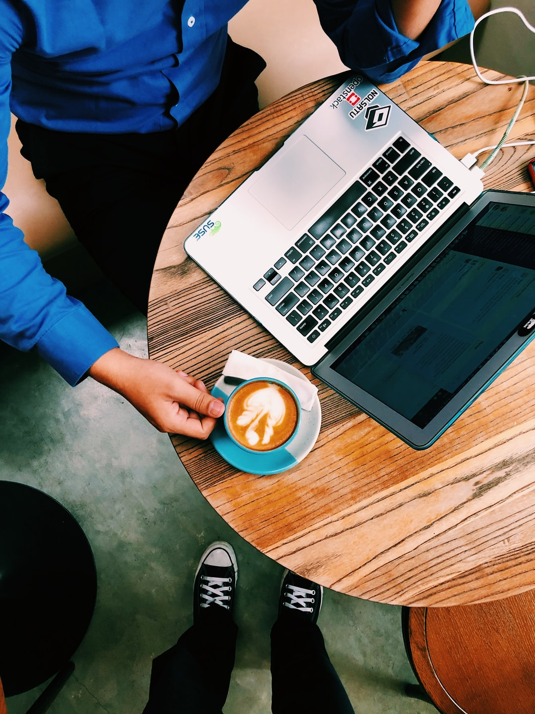 Most of remote workers that I've met spend their day on Coffee Shops with good atmosphere, good vibes, and good coffee.