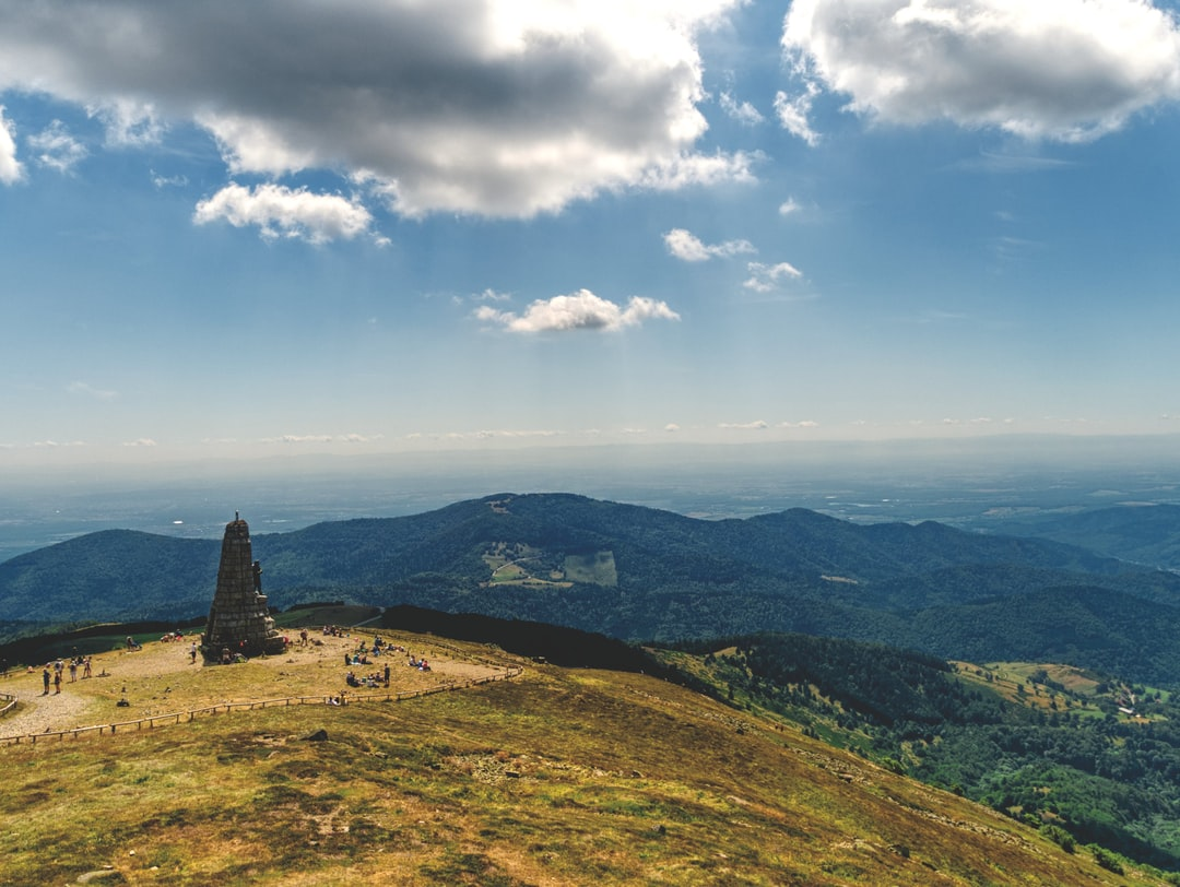 View from the Grand Ballon, highest peak of the Vosges