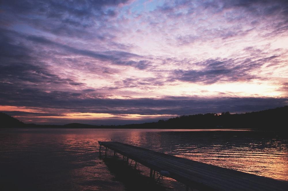 dock in body of water