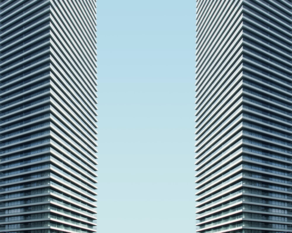 two tall building during daytime
