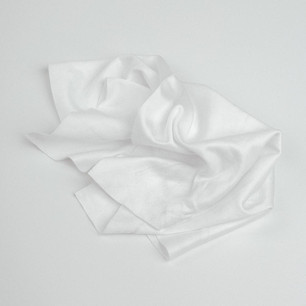 photo of white textile