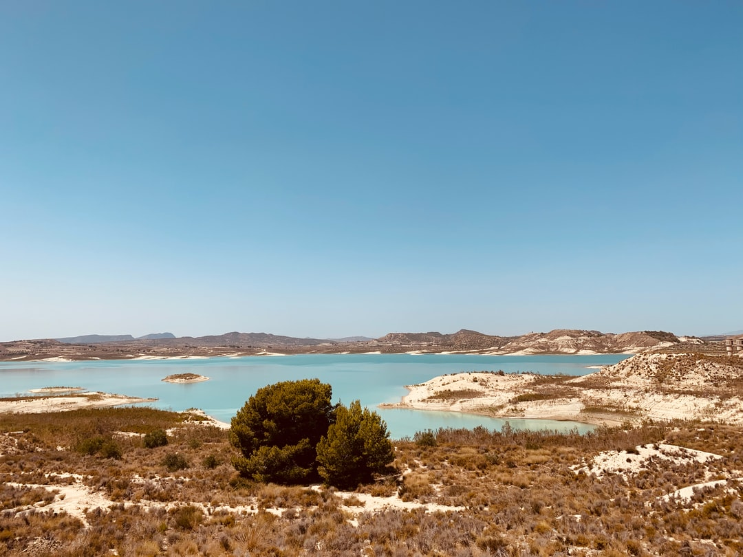 This lake is naturally, and unusually, turquoise.