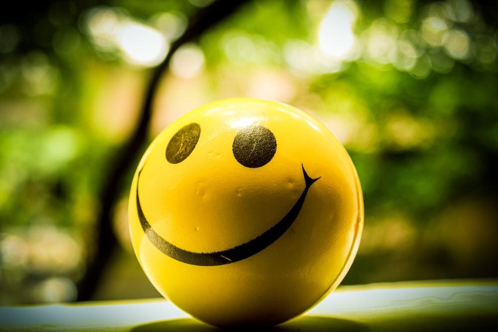 smiley ball