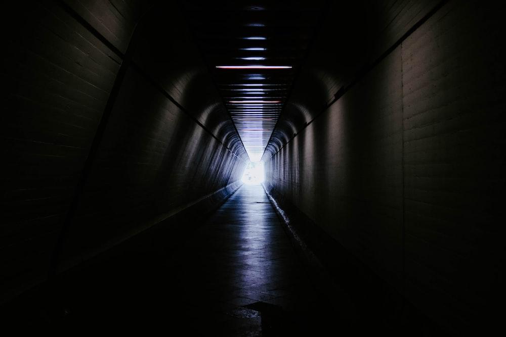concrete tunnel scenery