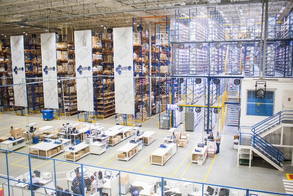 factory interior photo