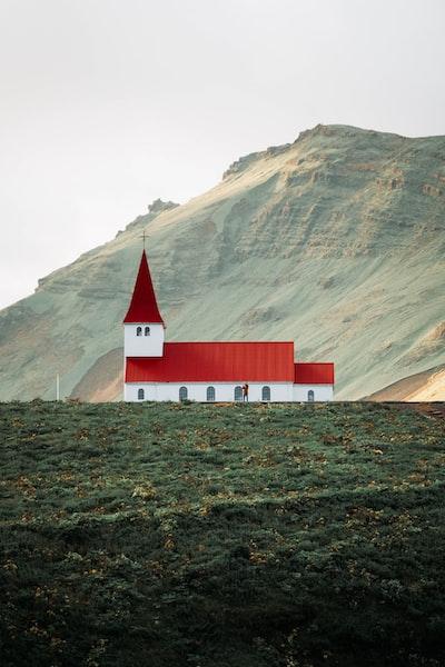 Beautiful Church in Vik, Iceland