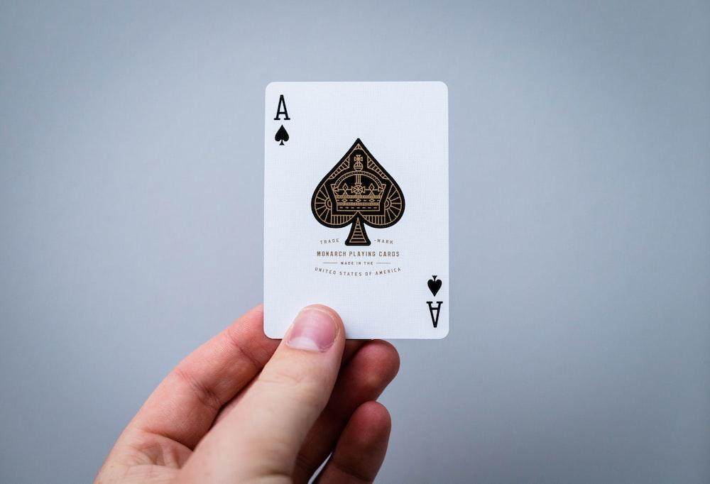 Ace of Spade card