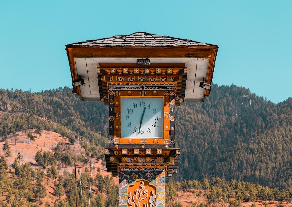 tower clock displaying 12:30