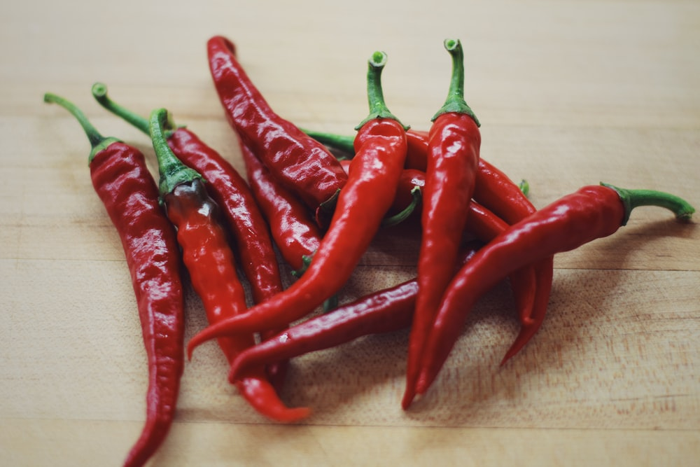 pile of red chilis