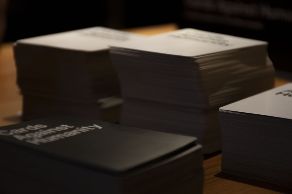 Cards Against Humanity playing cards