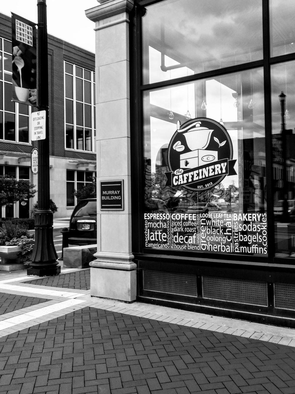 Caffeinery store facade