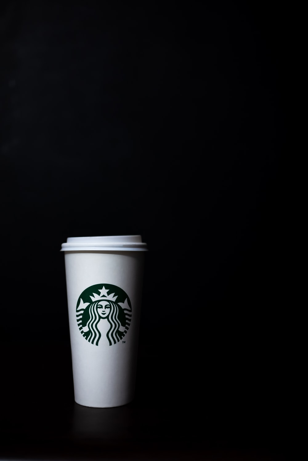 Starbuck's disposable cup