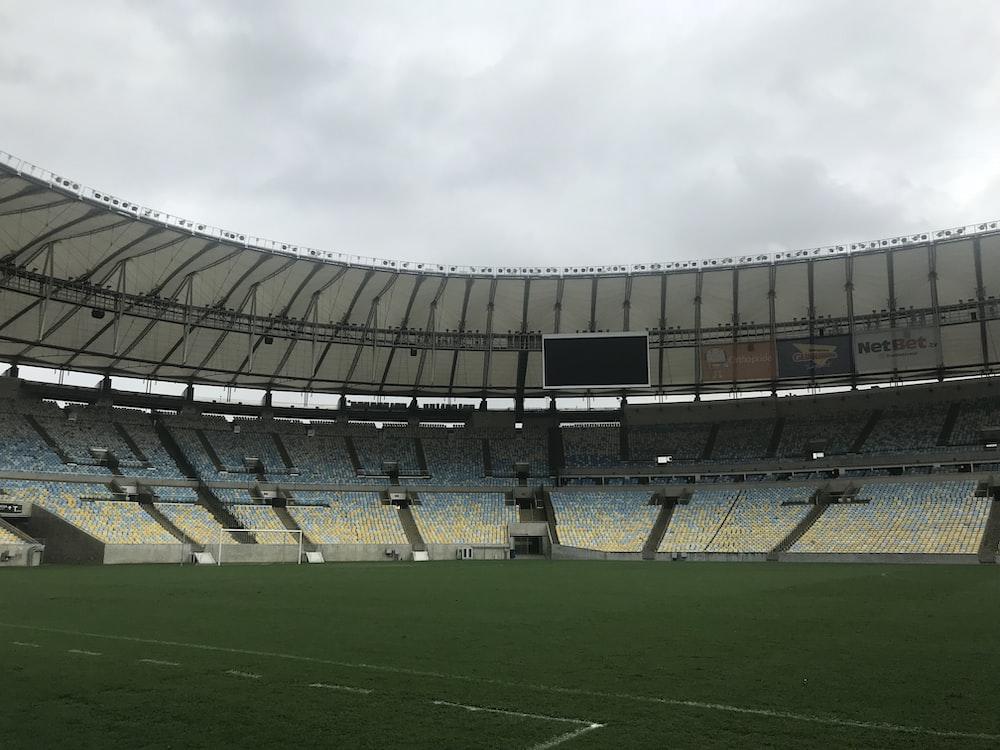 soccer field stadium