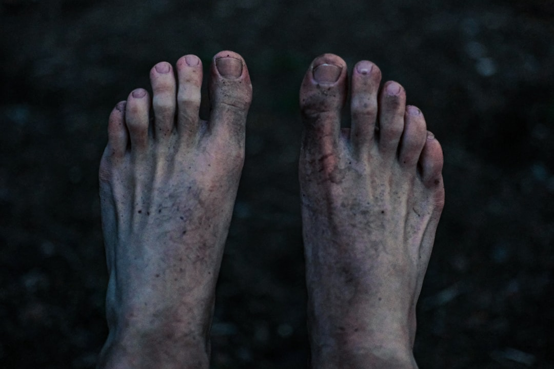 My own feet. 2019.