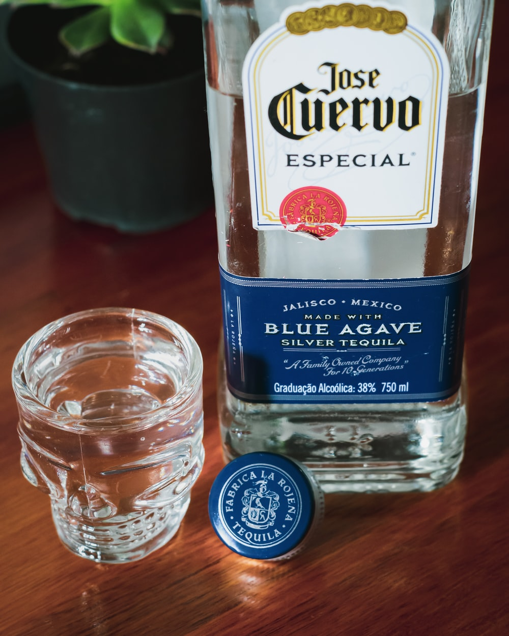 Jose Cuervo Especial Blue Agave bottle