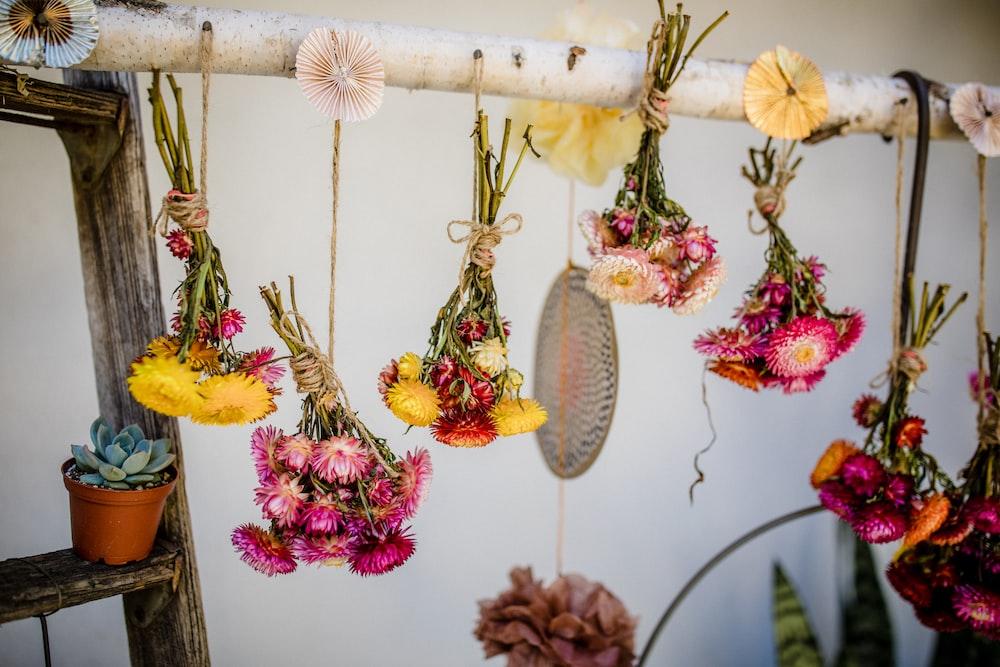 assorted-color bouquet