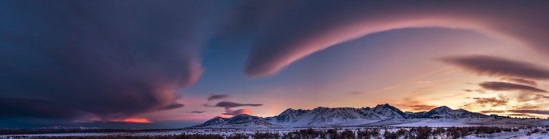 East Sierra Sunset