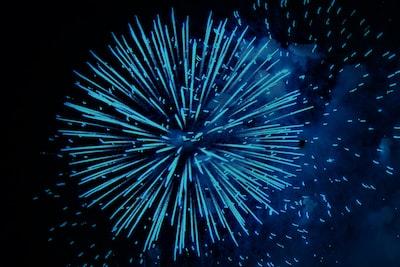 white fireworks fireworks zoom background