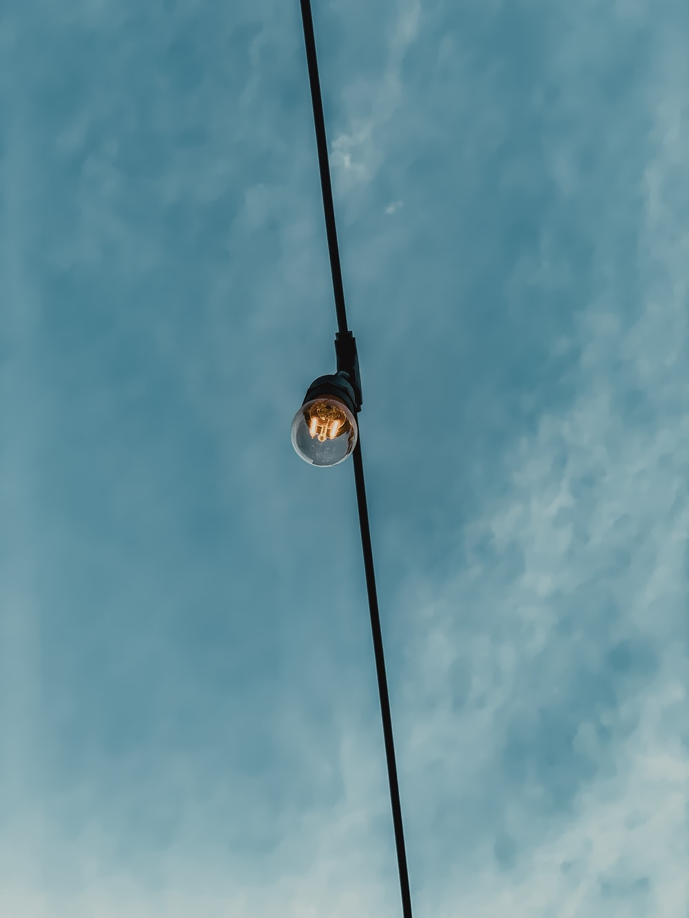 gray pendant light